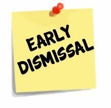 Early Dismissal Dec. 20-22