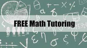 Free math tutoring starts Jan. 16