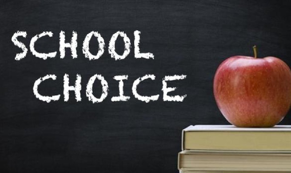 School Choice Applications Accepted Until May 1