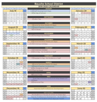 Bauxite 2019-2020 District Calendar
