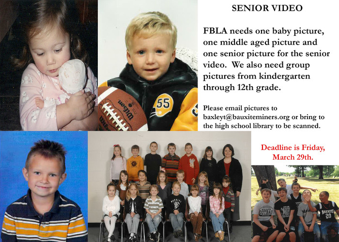 Senior Video Flyer