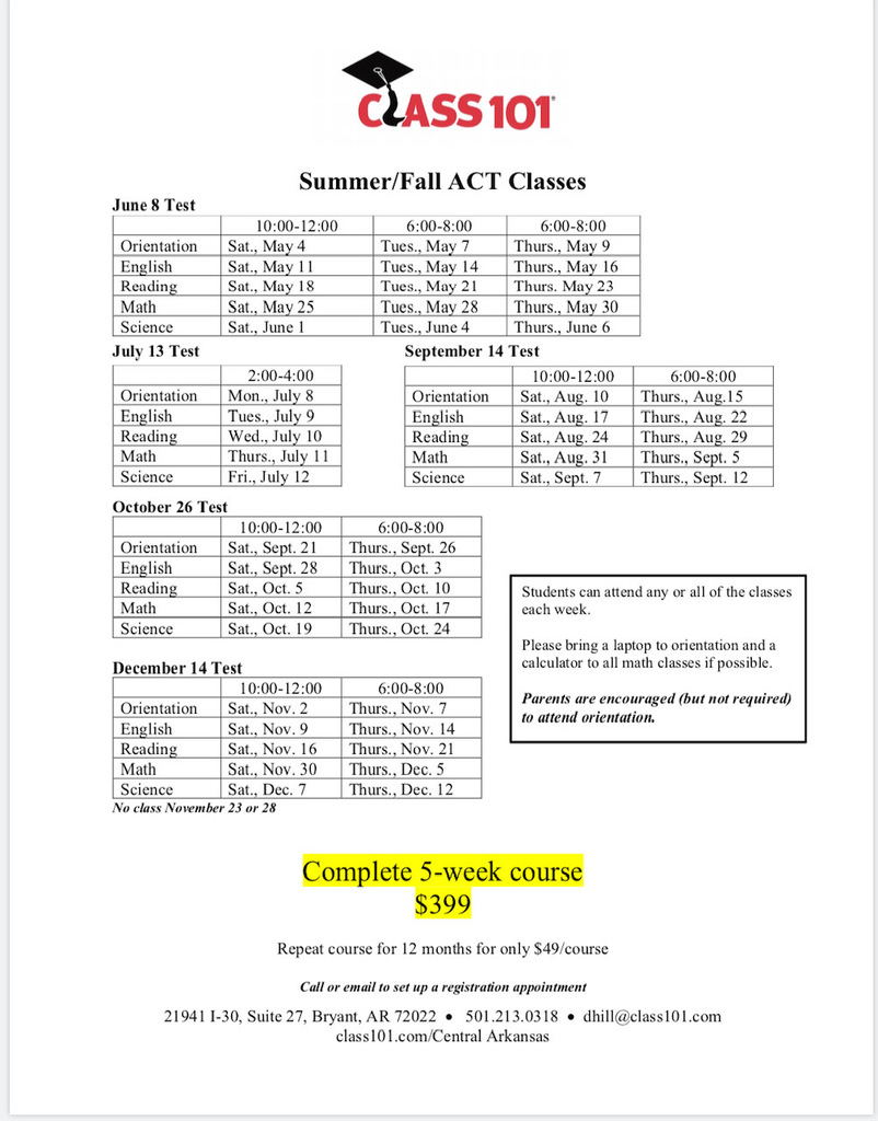 ACT Classes