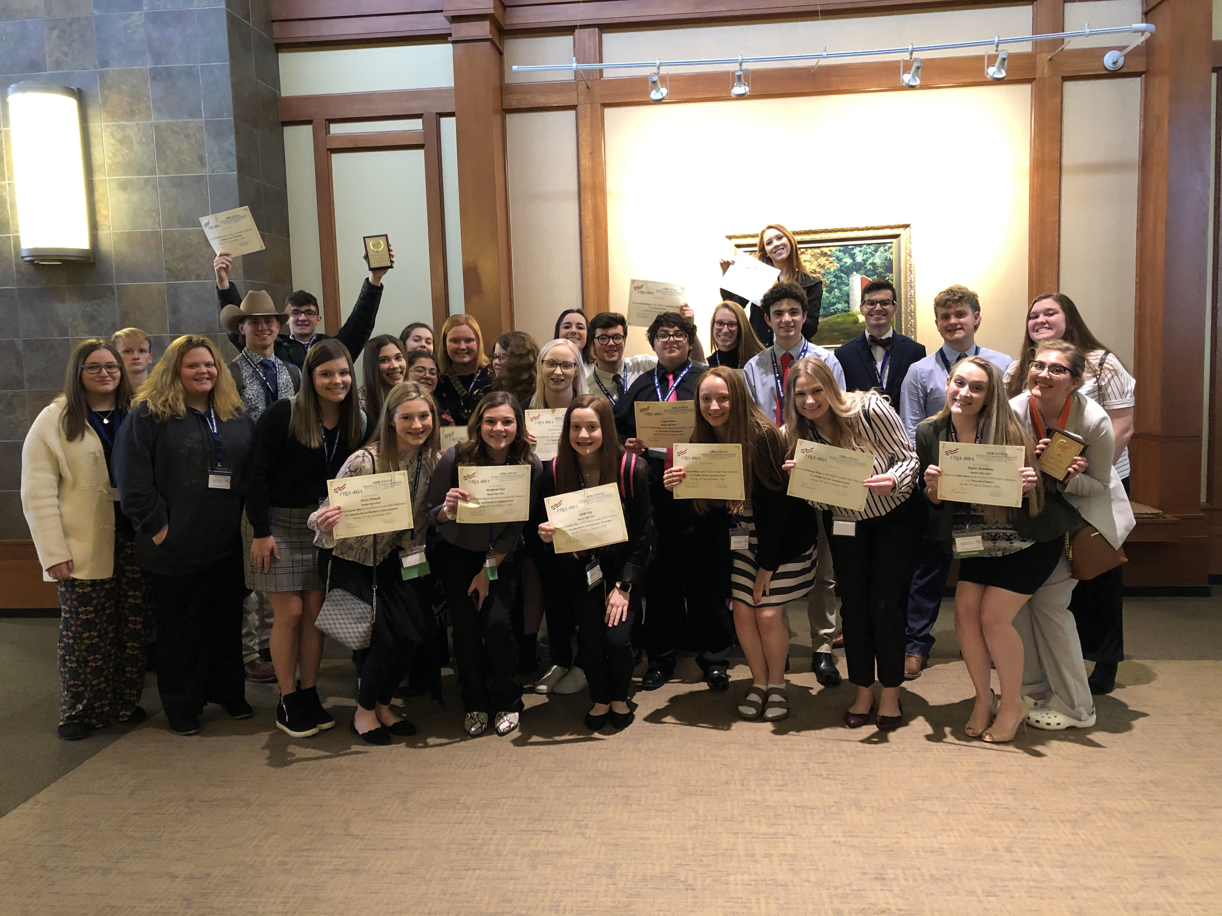 BHS FBLA members placed in various events at District III FBLA Conference.